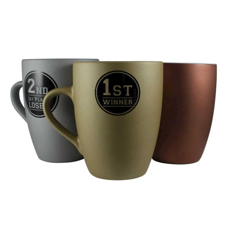 Marrow Medal Mug Zilver