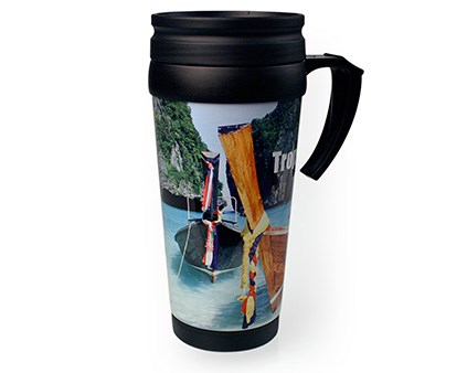 Malabar Photo TravelMug Zilver