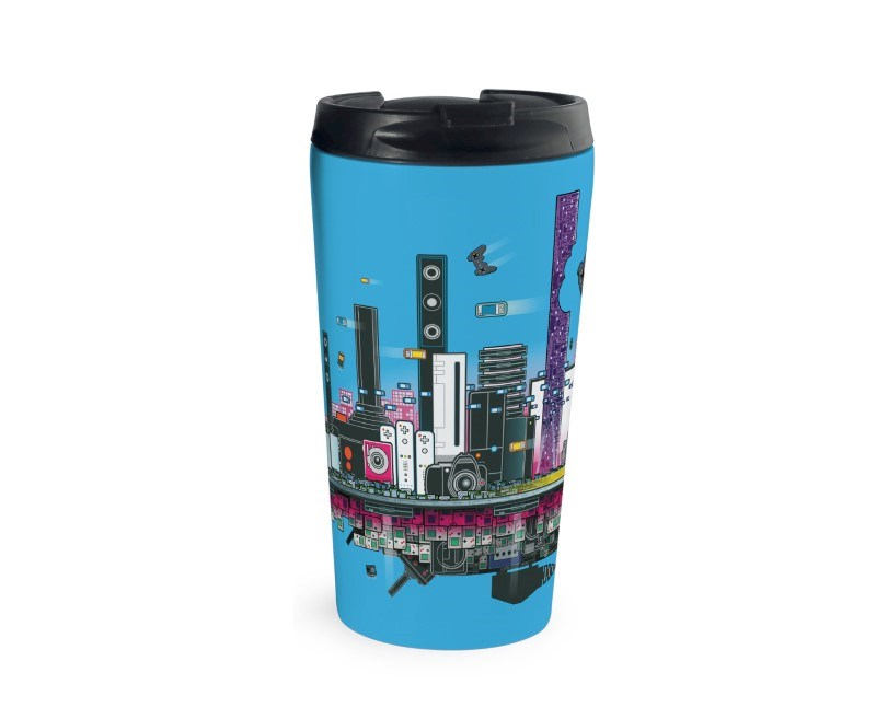 Rio Photo Travel Mug Zilver