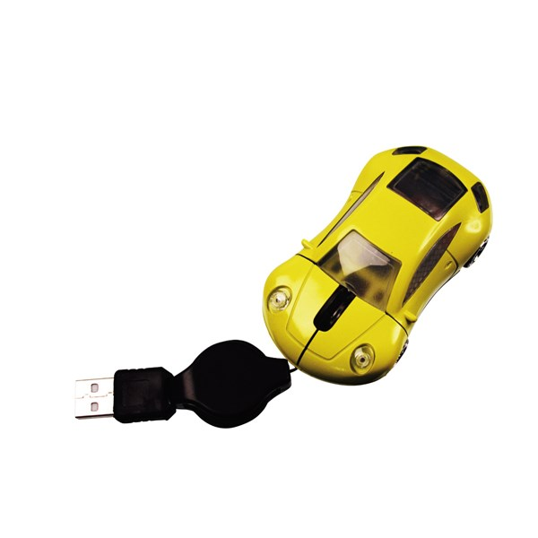 Mini Car Mouse Zilver