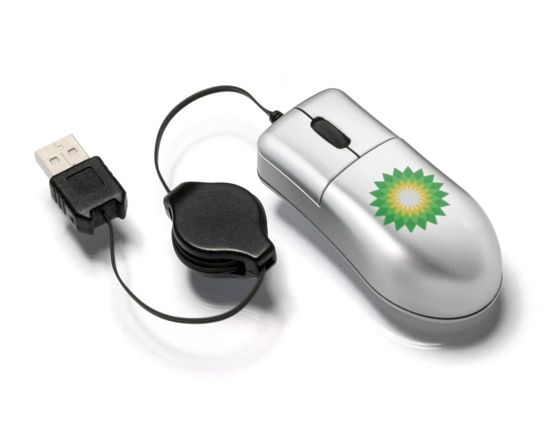 Micro Optical Mouse Zwart