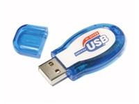 Jelly USB FlashDrive Geel