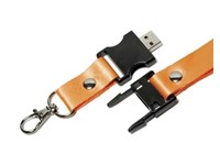 Lanyard USB FlashDrive Zwart