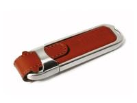 Leather 2 USB FlashDrive Bruin