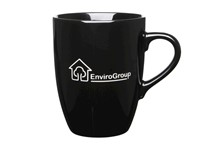 Marrow Etched Mug - Zwart