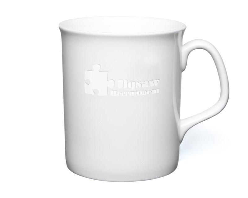 Marlborough Etched Mug