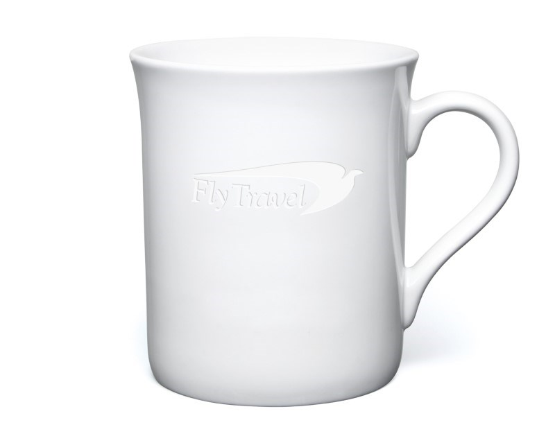 Newbury Etched Mug