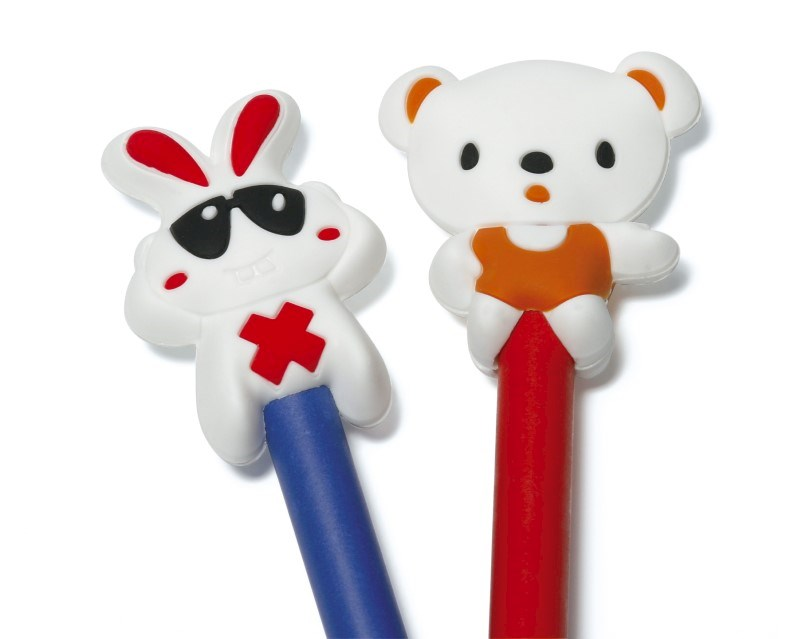 Soft PVC Pencil Topper