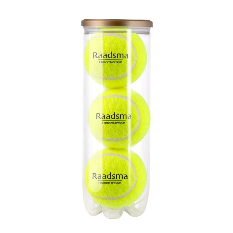 Tube tennisballen
