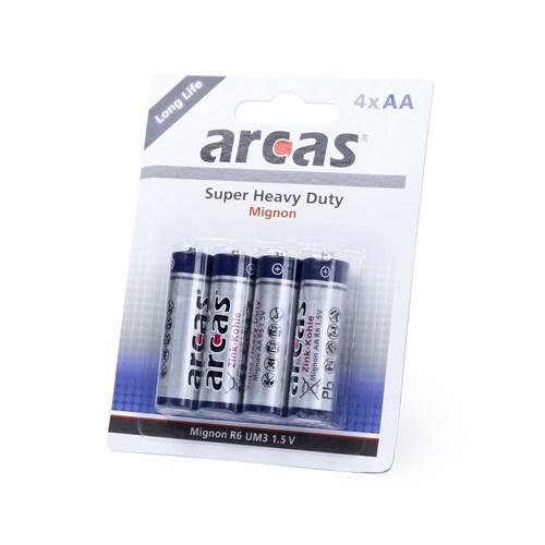4 Batterijen Pak 1,5V AA/ R6