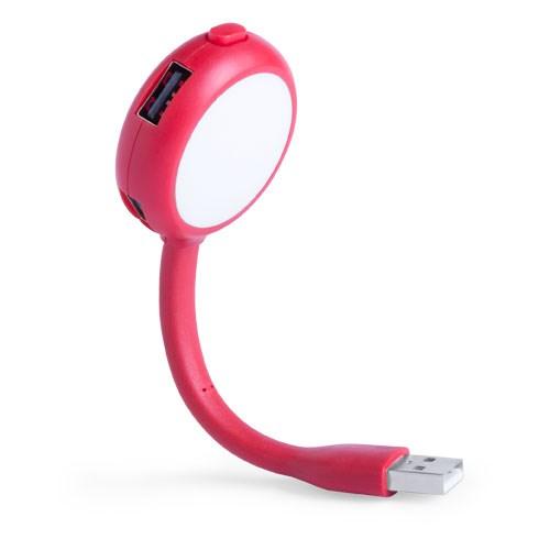 USB Hub Lamp Ticaro