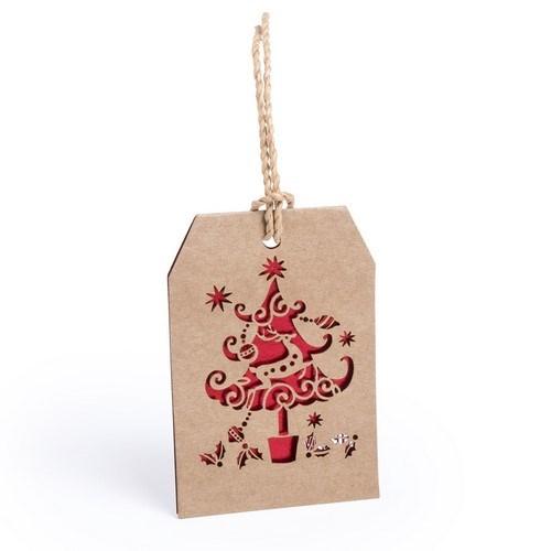Kerstcadeau Aanhang Kaartje Goslak