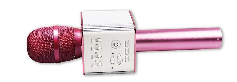 Bluetooth karaoke-microfoon roze
