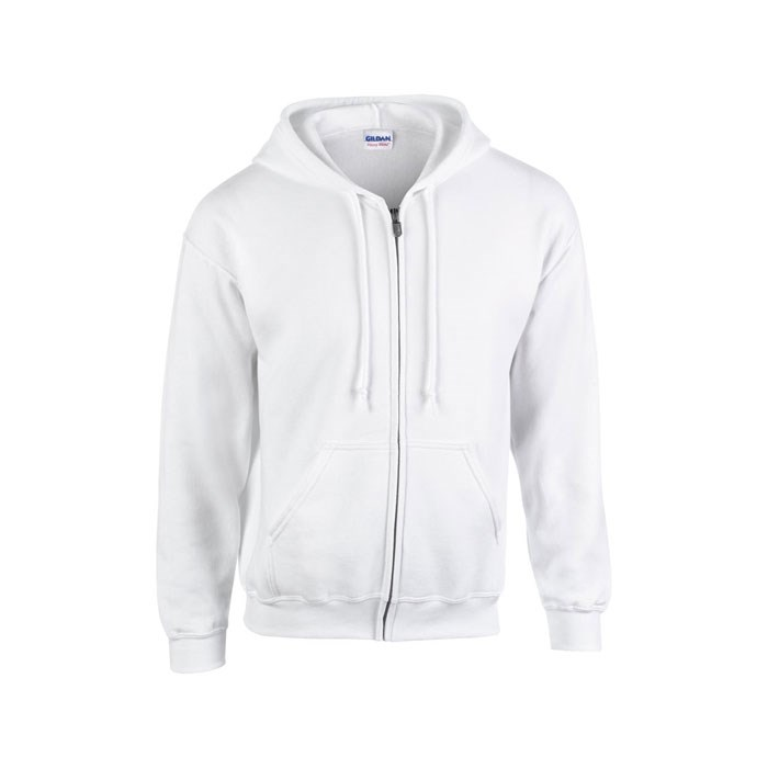 FULL ZIP HOODED SWEAT 18600