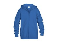 KIDS FULL ZIP HOODED SW 18600B