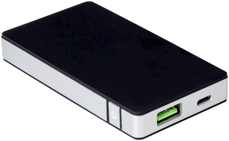 Celly 4000mah Powerbank met Apple lightning oplaadpoort