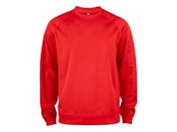 Clique Basic Active Roundneck rood s