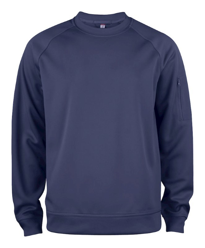 Clique Basic Active Roundneck dark navy s