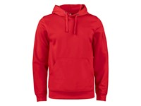 Clique Basic Active Hoody rood 3xl
