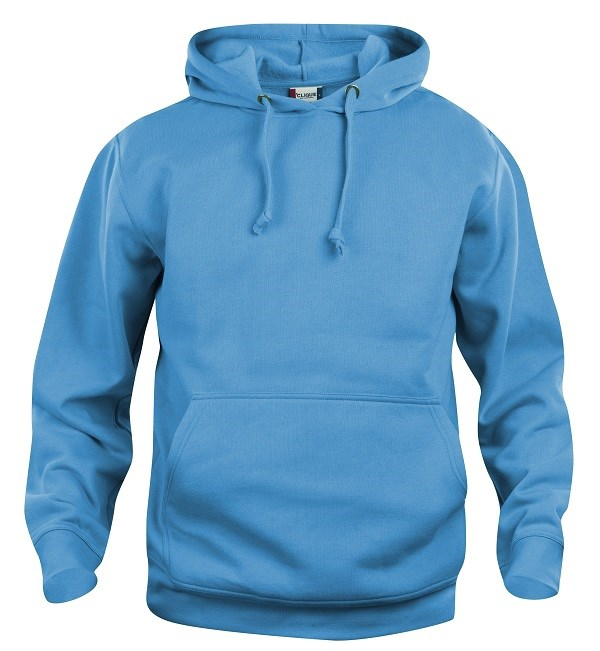 Clique Basic Hoody turquoise l