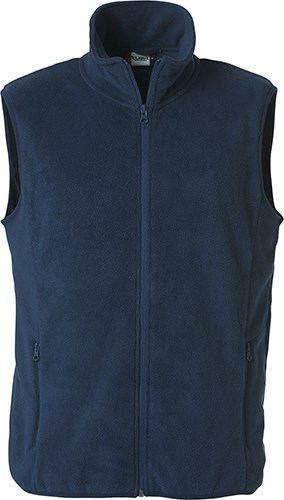Clique Basic Polar Fleece Vest dark navy l