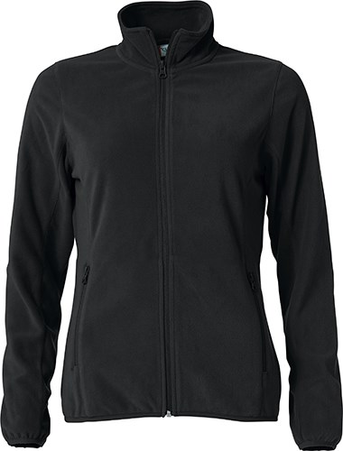 Clique Basic Micro Fleece Jacket Ladies zwart s