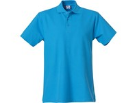 Clique Basic Polo turquoise s
