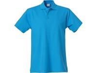 Clique Basic Polo turquoise 4xl