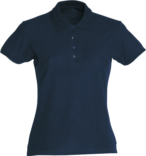 Clique Basic Polo Ladies dark navy xxl