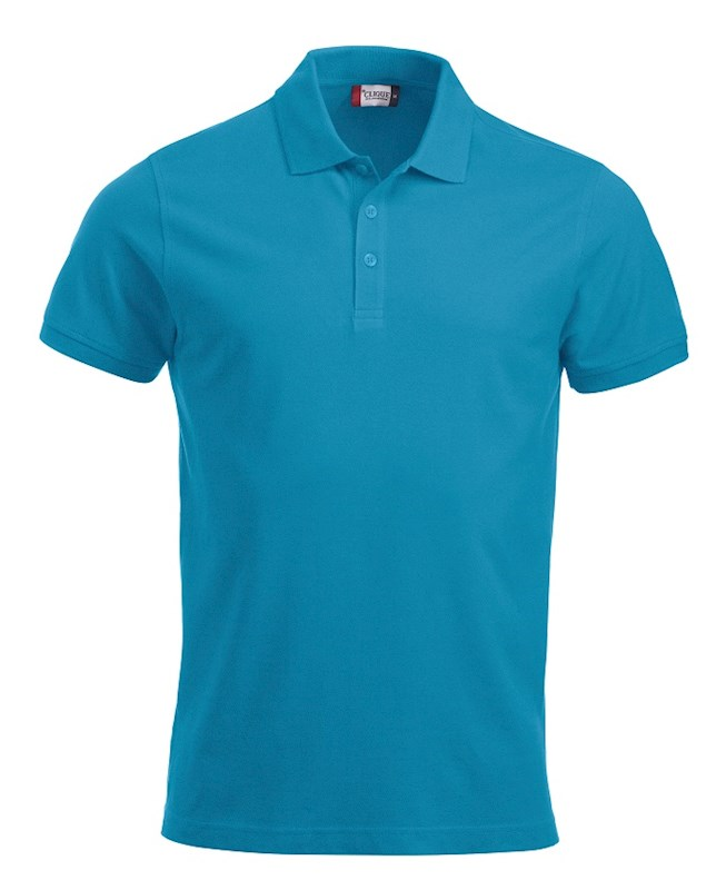 Clique Classic Lincoln S/S turquoise xxl