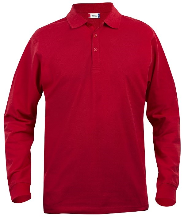 Clique Classic Lincoln L/S rood xs