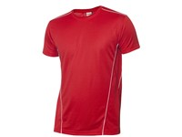 Clique Ice Sport-T rood/wit m