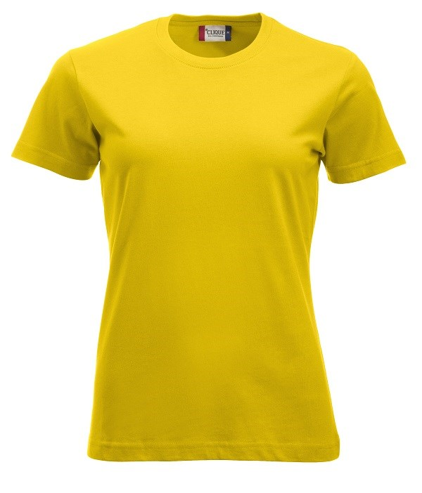 Clique New Classic-T Ladies lemon s