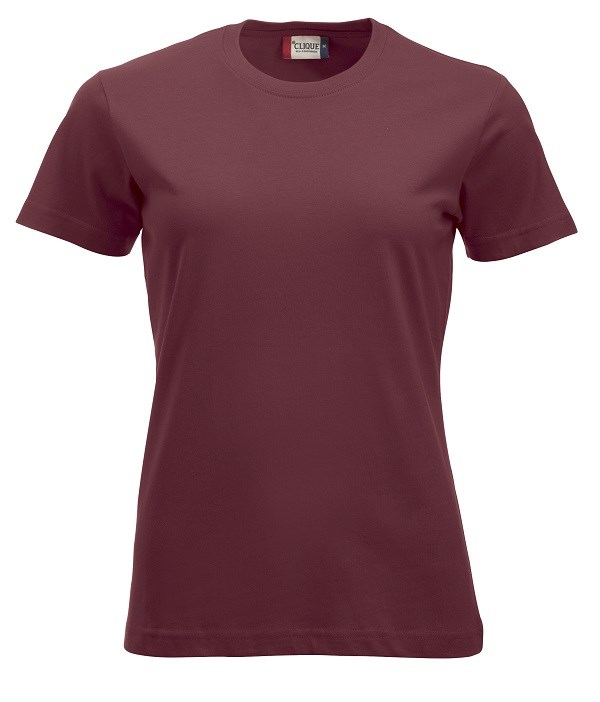 Clique New Classic-T Ladies bordeaux xs