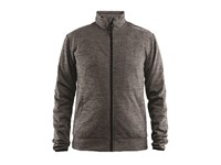Craft Leisure Jacket Men dk grey mel. m