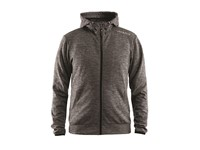 Craft Leisure F.Z Hood Men dk grey mel. 4xl