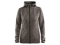 Craft Leisure F.Z Hood Women dk grey mel. s