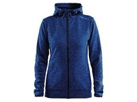 Craft Leisure F.Z Hood Wmn deep melange xxl