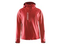 Craft Cortina Softshell Jacket men bright red 4xl