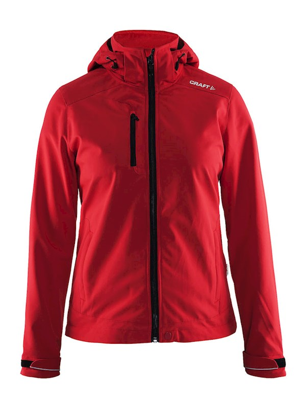 Craft Light Softshell Jacket women bright red m