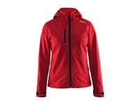 Craft Light Softshell Jacket women bright red l