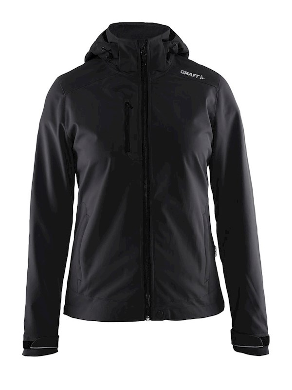 Craft Light Softshell Jacket women black s