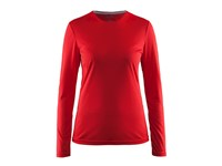 Craft Mind LS Tee women bright red xl