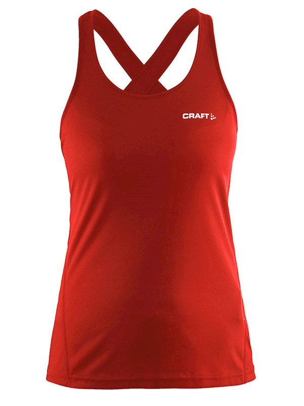Craft Mind Singlet women bright red xs