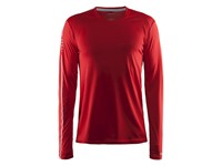 Craft Mind LS Tee men bright red xl