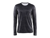 Craft Mind LS Tee men p line black s