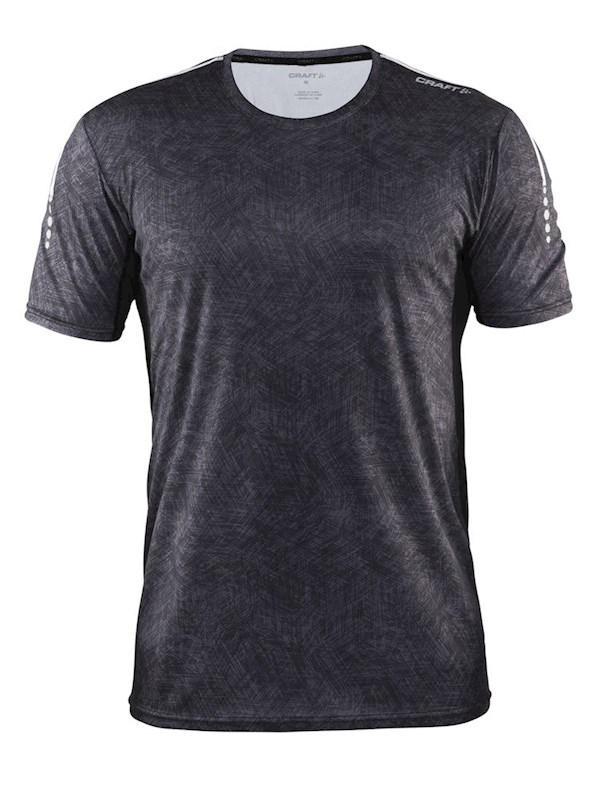 Craft Mind SS Tee men p line black m