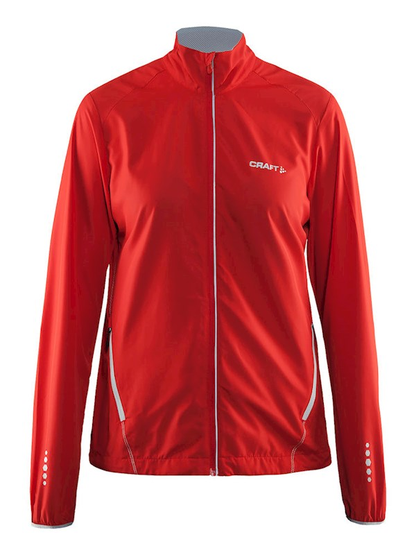 Craft Mind Blocked Jacket women bright red m