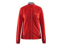 Craft Mind Blocked Jacket women bright red s