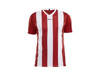 Craft Progress stripe jersey men br.red/white m